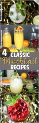 classic cocktail recipes 142 best easy party drink recipes images on pinterest drink