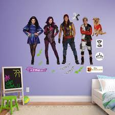 shop wayfair for a zillion things home across all styles and fathead disney descendants peel and stick wall decal