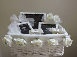 wedding gift basket ideas jewelled photo frame gift basket the wickerberry