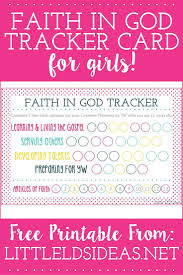 as 10 melhores ideias de faith in god for girls activities no