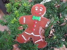 craft klatch big resin gingerbread man christmas decoration