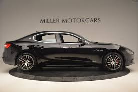 new maserati sedan 2018 maserati ghibli sq4 gransport stock w502 for sale near