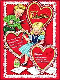 vintage valentines vintage valentines press out book golden books 9780375875144