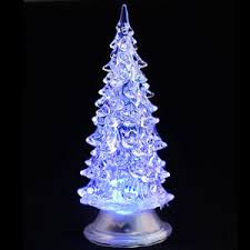 colour changing led decoration small tree