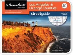 Orange County Zip Code Map by Thomas Guide Los Angeles U0026 Orange Counties Thomas Guide