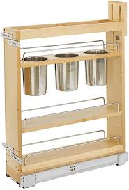 kitchen base cabinets canada rev a shelf 448ut bcsc 5c 5 inch kitchen utensil soft pull out cabinet organizer with shelves removable bins and soft slides for kitchen