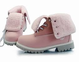 womens pink timberland boots sale cheap timberland roll top boots pink with wool grey