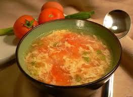 cuisine oeufs soupe de tomate aux oeufs recettes de cuisine espagnole