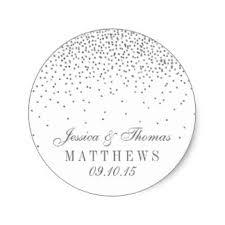 and silver wedding wedding stickers zazzle