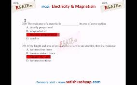 300 objective questions on electricity and magnetism 2 q 150