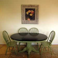 Green Dining Room Table by Pretty Green Dining Table On Mestler Dark Brown Rectangular Dining