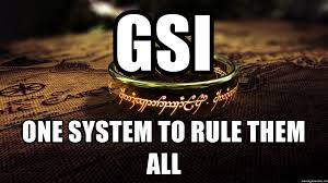 One Ring To Rule Them All Meme - gsi one system to rule them all lotr one ring to rule them all