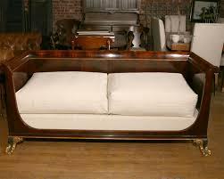 Empire Style Interior Empire Style Box Sofa At 1stdibs