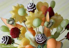 fruit bouque how to make a fruit bouquet hoosier