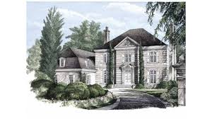 neoclassical home plans home plan homepw26684 5372 square foot 5 bedroom 5 bathroom