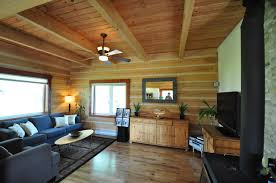 Home Design Show Vancouver by Model Log Home On Vancouver Island