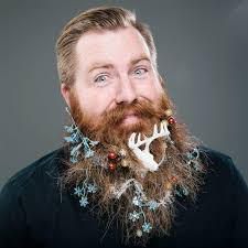 beard ornaments the twelve beards of christmas whimsical photos of bearded men