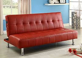 red sleeper sofas u0026 pull out beds