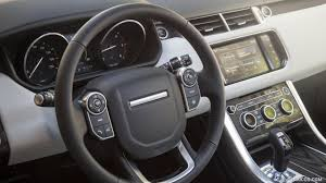 land rover sport interior 2016 range rover sport hse td6 diesel interior steering wheel