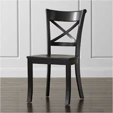 Black Dining Chairs Vintner Black Wood Dining Chair In Dining Chairs Reviews Crate