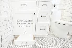 step stool for bathroom sink great idea for kids no annoying step stools to trip over in the