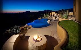Custom Landscape Lighting blooming desert custom arizona pools and landscapes