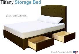 King Platform Bed Storage Plans by Bed Frames Espresso King Storage Bed Full Size Storage Bed Beds