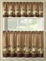 themed kitchen ideas splendid kitchen curtains wine theme designs with wine themed