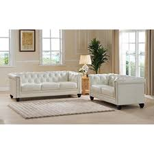Top Leather Sofas by Leyland White Top Grain Leather Sofa And Loveseat New House