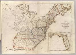 Full Map Of The United States by United States 1811 By Matthew Carey Philadelphia David Rumsey