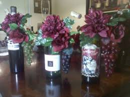 wine bottle wedding centerpieces wine bottle wedding centerpieces with flowers insidewedwebtalks