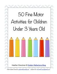 children activities free homeschool printables 50 fine motor activities for children