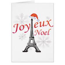 joyeux noel christmas cards christmas eiffel tower greeting cards zazzle
