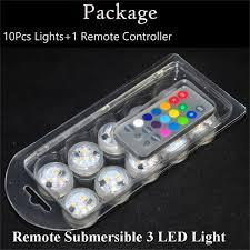 shop 100pcs lot submersible waterproof led lights