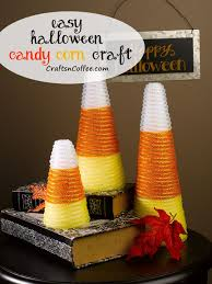 easy candy corn diy made with deco mesh flex tubing tutorial on