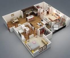52 best floor plans 3bhk images on pinterest bedroom