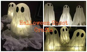halloween ghost crafts blissful domestication