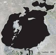 Aral Sea Map Aral Sea Kazakhstan