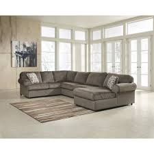 Overstock Sectional Sofas Signature Design Oversized Fabric Sectional Sofa Free Shipping