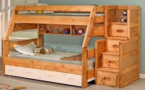 Log Bunk Beds Full Over Full Full Size Of Twin Over Full Bunk - Stairway bunk bed twin over full