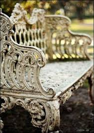 antique garden benches foter