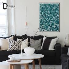Posters For Living Room by Blue Nordic Picture Canvas Art Paintings For Living Room Wall