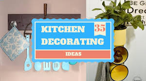 diy kitchen decor ideas 35 diy kitchen decorating ideas giving a complete makeover youtube