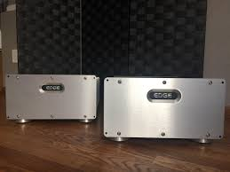 home theater monoblock amplifier edge electronics nl 10 mono amps reduced to 4799 solid state
