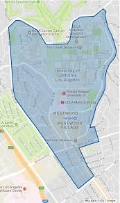 Map Of Ucla Ucla Students Announce Plan To Split From Westwood Neighborhood