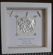 tenth wedding anniversary stunning tenth wedding anniversary gift ideas images styles