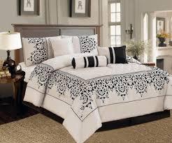 total fab black and ivory comforter u0026 bedding sets