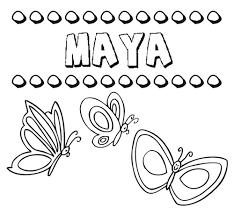 imagenes mayas para imprimir dibujos de los nombres para colorear pintar e imprimir