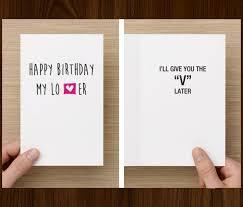 birthday cards for boyfriend birthday card ideas for