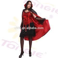 Vampire Cape Wholesale High Quality Halloween Women Vampire Cosplay